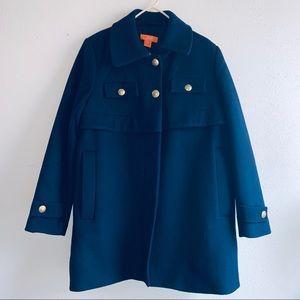 Joe Fresh Navy Wool Military Style Jacket